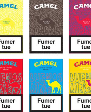 Camel Limited Edition Packs